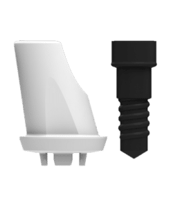 ZERAMEX®XT Abutment WB Angular 15°, 1mm (incl. Screw)