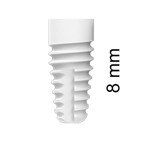 ZERAMEX®XT Implant Ø4.2x8mm RB (incl. Healing Cap)