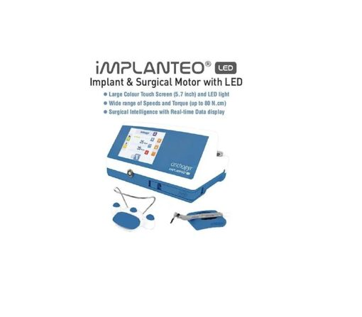 Implanteo LED® implantology and surgery motor w Mont Blanc Handpiece - 11501LED