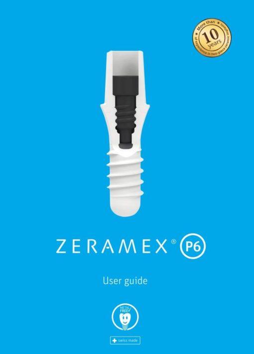 """ZERAMEX P6 USER GUIDE - """"The BlueBook"""""""
