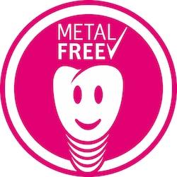 Metal-free dental implants