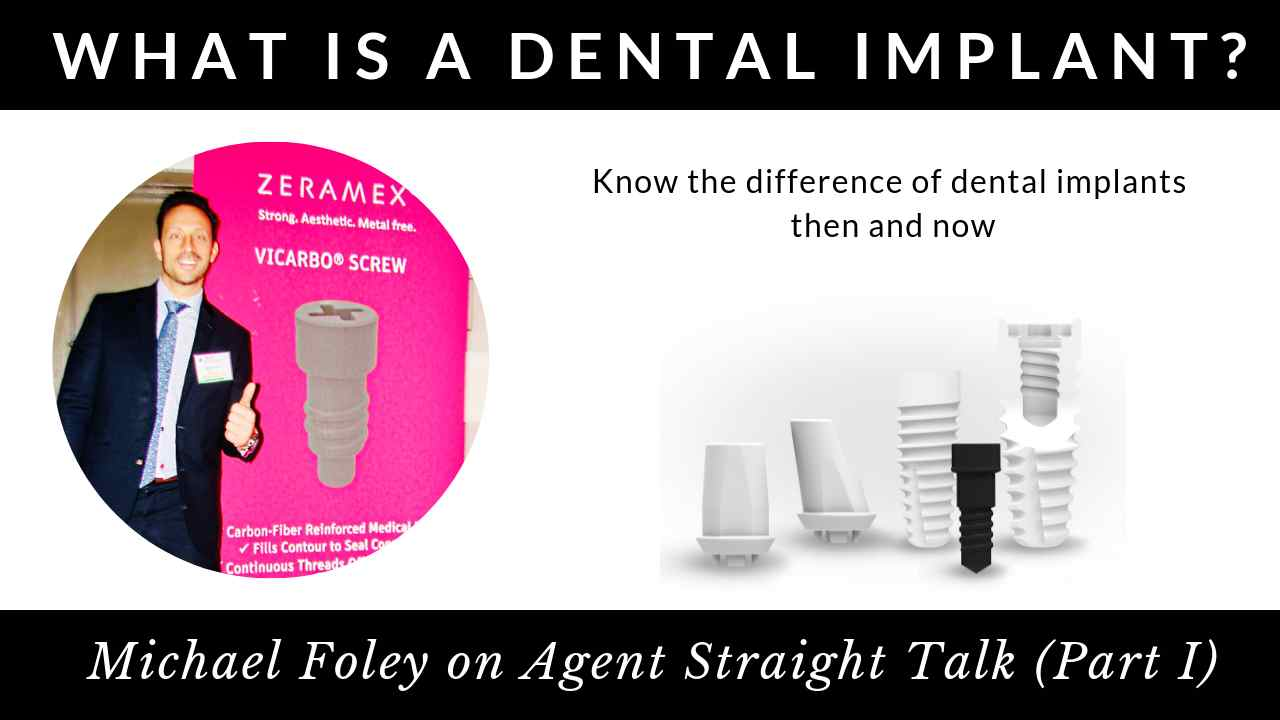 Michael Foley on Agent Straight Talk Part 1