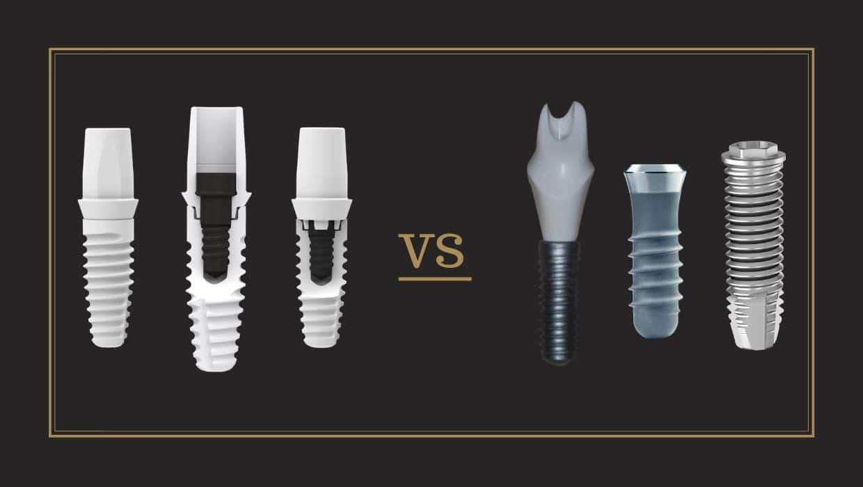 ZERAMEX Ceramic Implants versus Titanium Implants