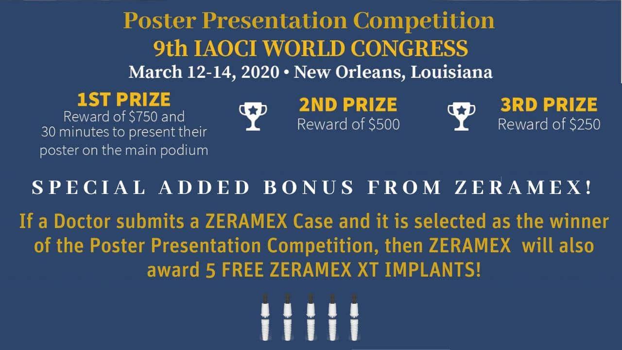 IAOCI Poster Presentation Competition PRIZE