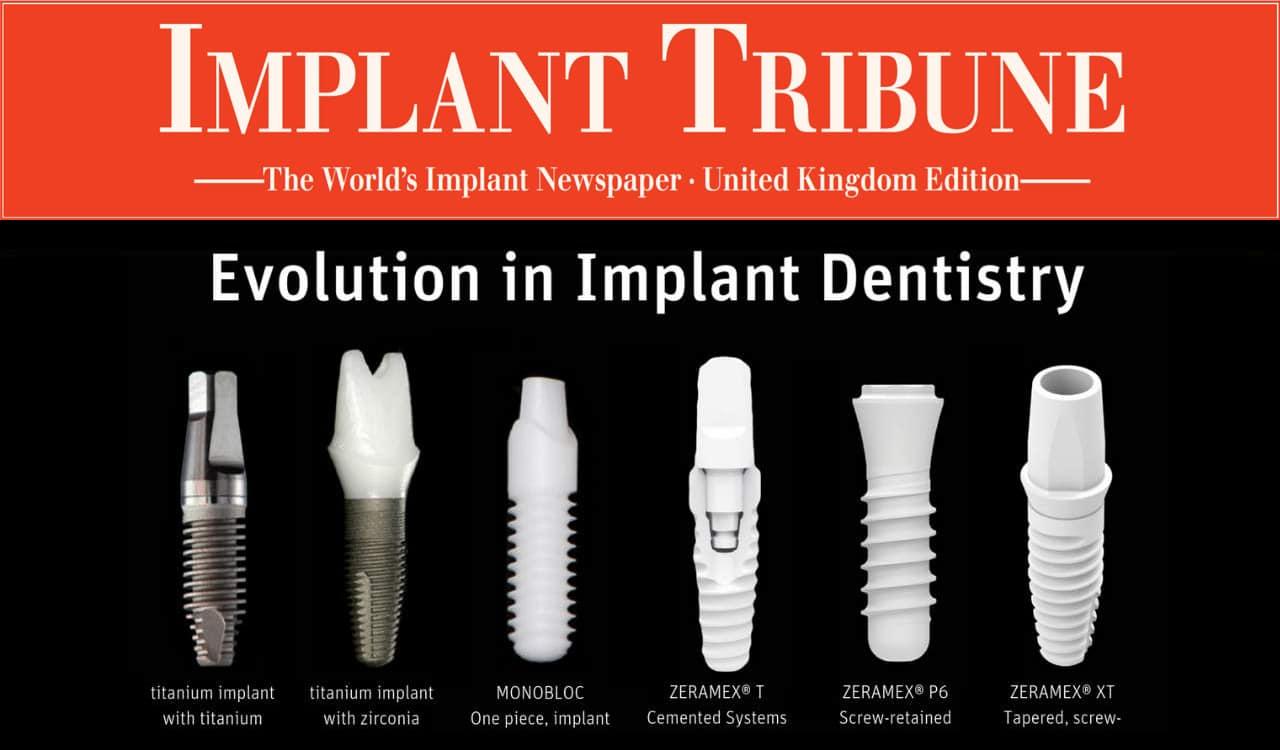 Implant Tribune - Evolution in Implant Dentistry