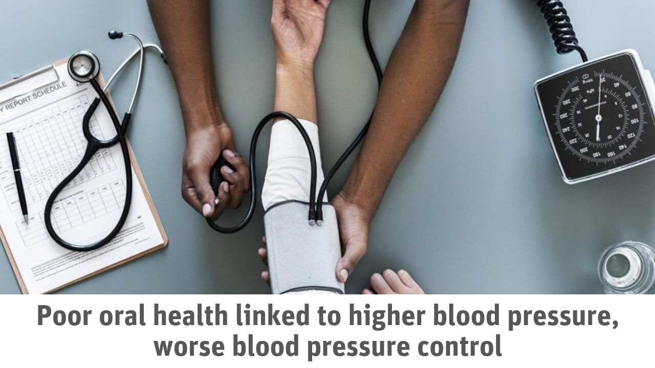 Oral Health connected with Blood pressure