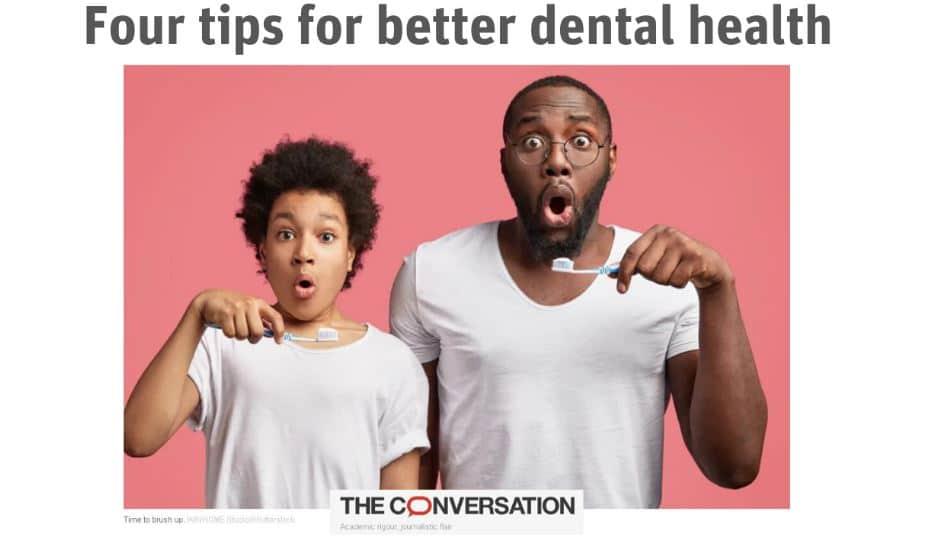 4 tips for better dental health