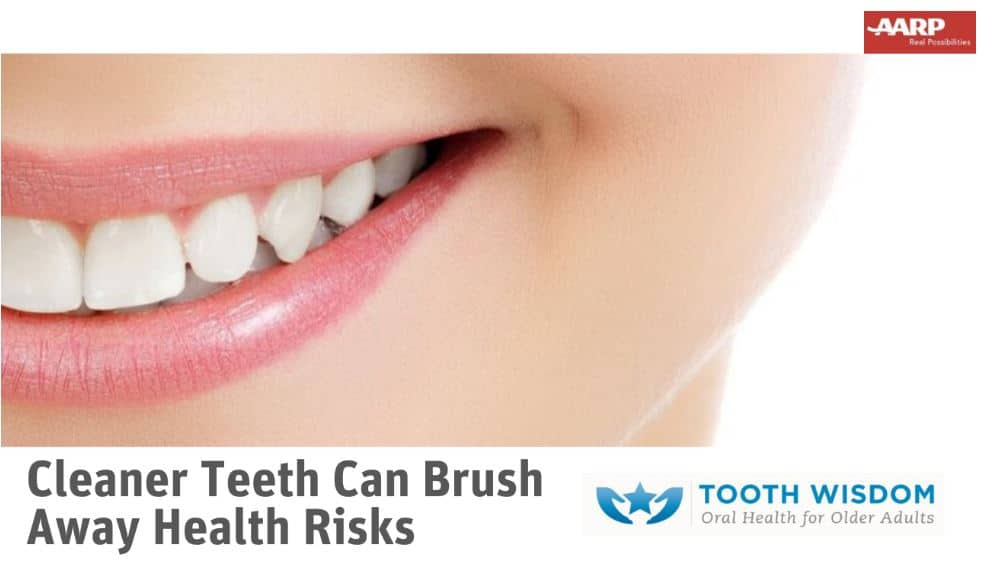 Cleaner teeth brushes away health risks