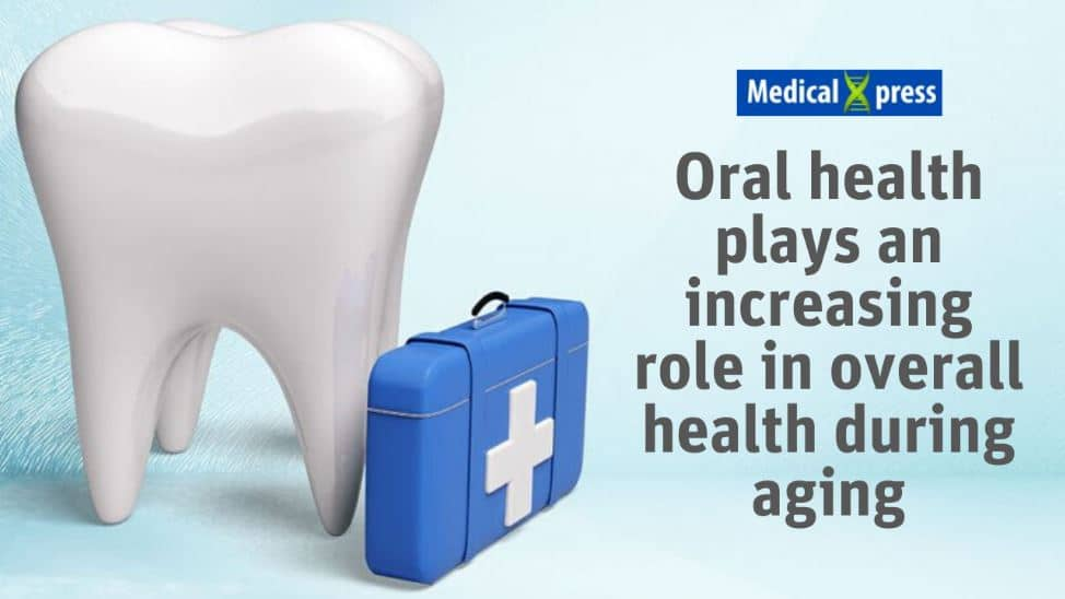 Oral health role during aging